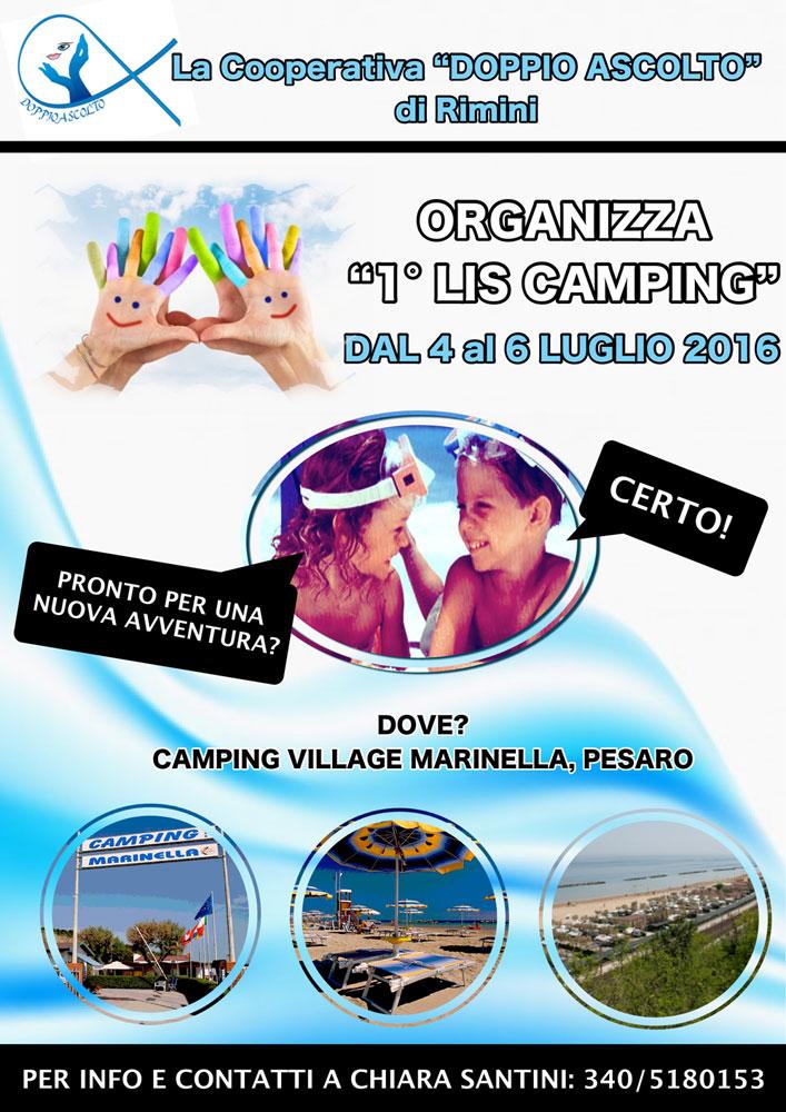 campeggio bilingue di tre giorni